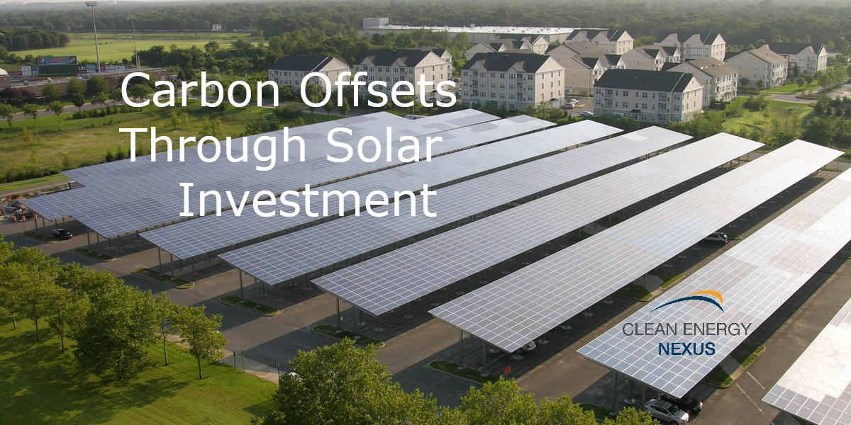 Carbon Offsets Through Solar Investment