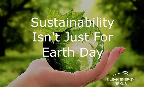 Sustainability Isnt Just For Earth Day V2